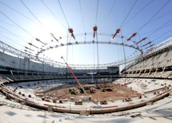 Watch Wanda Metropolitano's roof being erected in this amazing timelapse video
