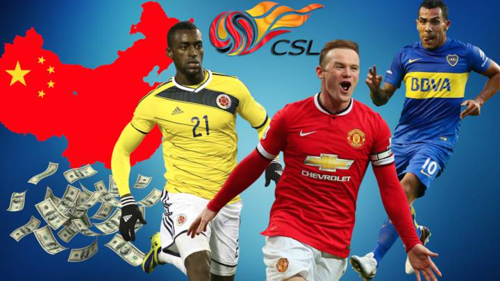 Los 10 estratosféricos sueldos de la Superliga China