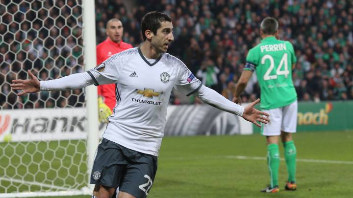 Resumen del Saint-Étienne-Man United de Euoropa League