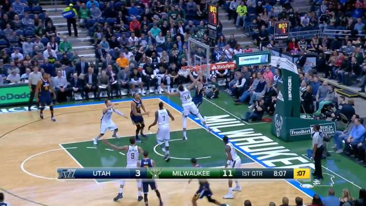 Resumen del Milwaukee Bucks - Utah Jazz de la NBA