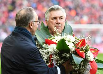 Ancelotti celebrates 1,000-game milestone