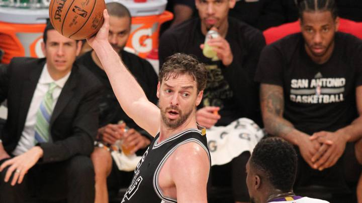 Resumen de Los Angeles Lakers - San Antonio Spurs
