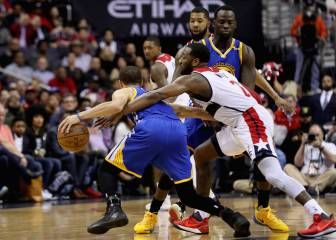 Resumen del Washington Wizards - Golden State Warriors