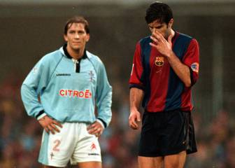 When Salgado scored a stunner for Celta Vigo at Barcelona