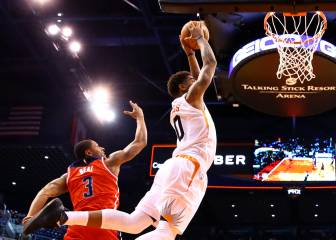Resumen del Phoenix Suns - Washington Wizards de la NBA