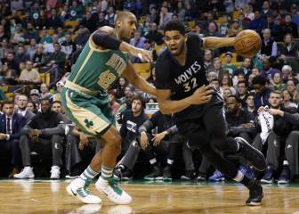 Resumen de Boston Celtics-Minnesota Timberwolves