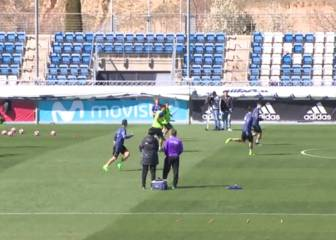 Real Madrid preparations for Athletic Club clash continue