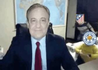 El video que arrasa en la red: Florentino, Atlético y Leicester