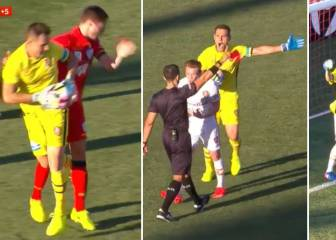 Controverial red and penalty decides Adelaide-Brisbane