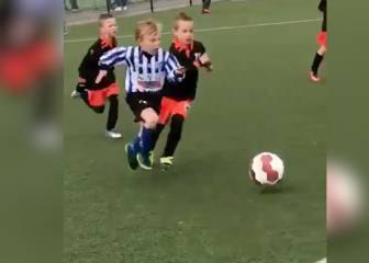 Dirk Kuyt's 5-year-old son scores wondergoal after mazy run
