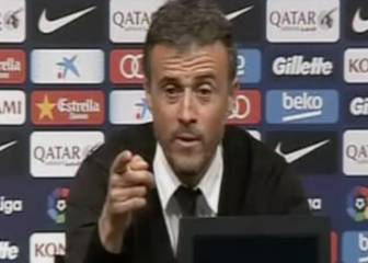 Luis Enrique catches reporter napping during presser