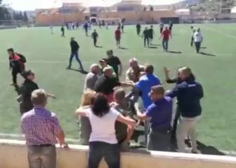 Shameful... brawl breaks out during kids game in Mallorca