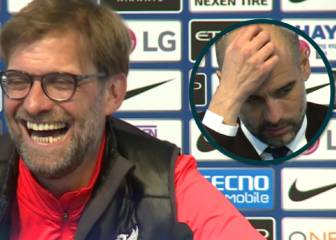 Klopp cracks up when asked about 'emotional' Guardiola