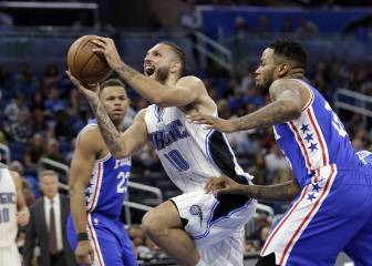 Resumen del Philadelphia 76sers-Orlando Magic de la NBA