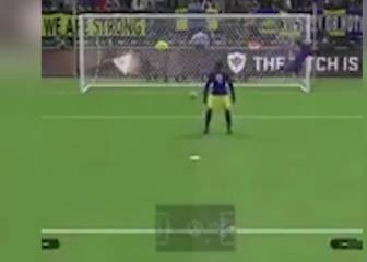 Pro Evolution Soccer clash throws up farcical penalty