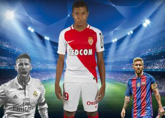 Monaco sensation Mbappé reveals best ever XI