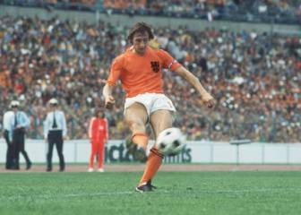 Five memorable Cruyff goals