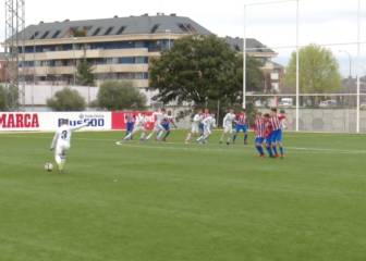 Real Madrid youth player scores ridiculous free-kick