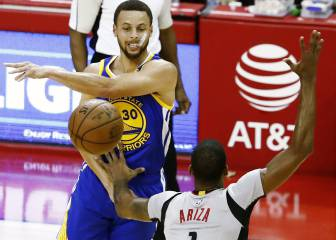Resumen del Houston Rockets - Golden State Warriors