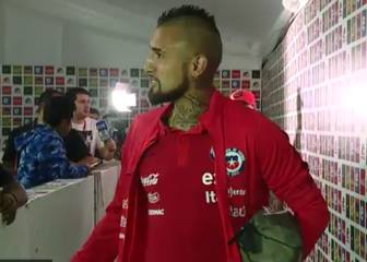 Vidal amenaza al Madrid: