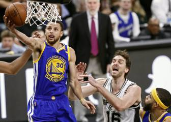 Resumen del San Antonio Spurs - Golden State Warriors