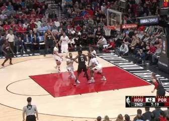 Resumen de Portland Trail Blazers-Houston Rockets
