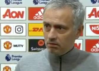 José Mourinho lays into a reporter after West Brom draw