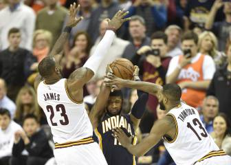Resumen del Cleveland Cavaliers-Indiana Pacers