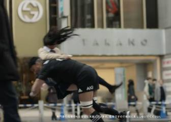 The All Blacks hit Shibuya