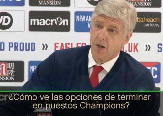 Wenger's curt reply when asked about chances of a top-4 finish