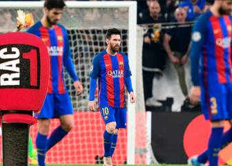 El Barça abandonó la idea, jugó a ser el Madrid y se pegó una leche tremenda - AS.com