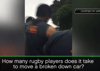 Pack of Sunwolves rescue stricken Kiwi motorist