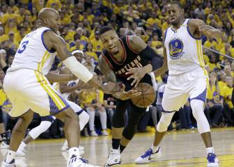 Resumen del Golden State Warriors-Portland Trail Blazers de la NBA