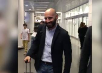 Monchi, all smiles as he begins a brand new adventure in Italy