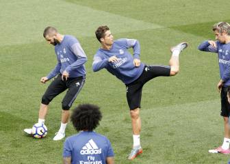 Real complete final session before LaLiga clash at Celta