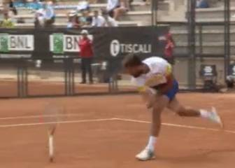 Paire goes spare in Italian Open clash with Mahut