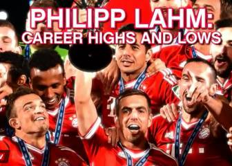 Philipp Lahm career highs and lows