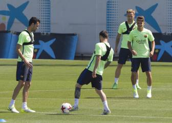 Barça's final dress rehearsal for Saturday's Copa del Rey final