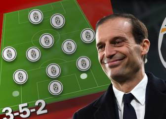 El sistema defensivo perfecto de Allegri que teme el Madrid