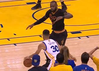 Curry crack: ¡baile épico al mismísimo LeBron James!