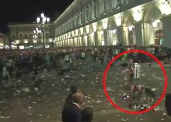 Cameras catch possible cause of Turin panic crush