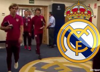 Antoine Griezmann's gesture of respect for Real Madrid crest