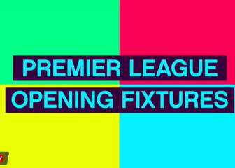 Premier League opening day fixtures - in words and numbers