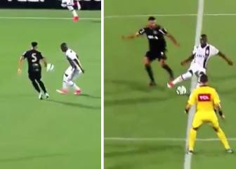 'Sombreros', nutmegs, flicks... Vinicius delves into his trick bag