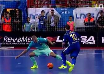 The five goals of the season in Spain's LNFS futsal league