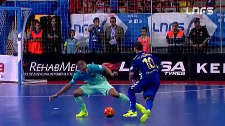 The five goals of the season in Spain\'s LNFS futsal league