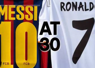 Lionel Messi v Cristiano Ronaldo - at the age of 30
