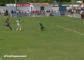 Sublime finish caps Real U19s' Copa triumph against Atlético