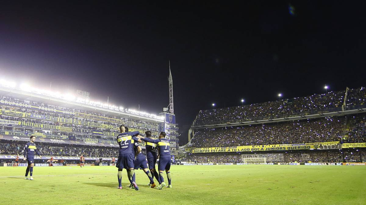 Con Barrios 90 minutos, Boca gana a Independiente