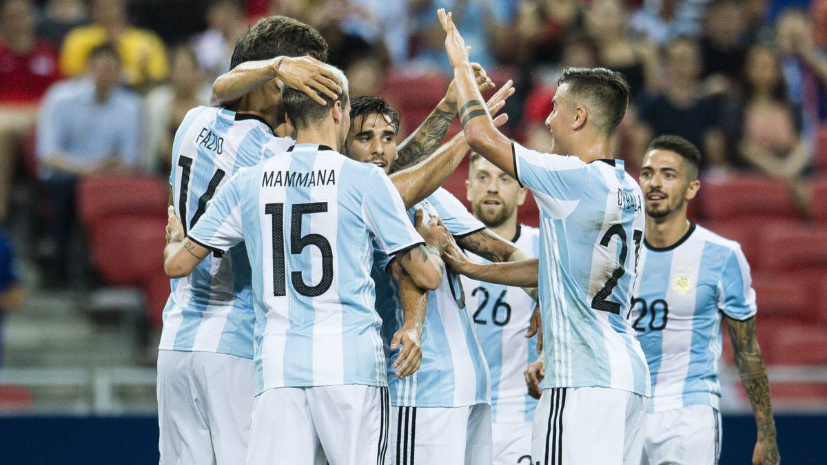 Lionel Messi-less Argentina thrash Singapore 6-0